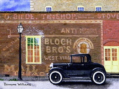 Painting - Bloch's Wall by Duwayne Williams