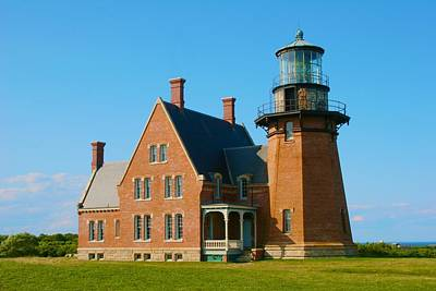 Photograph - Block Island Lighthouse by Polly Castor