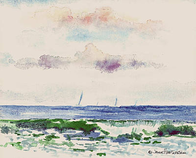 Painting - Block Island Sound by Joan Hartenstein