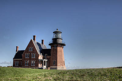 Block Island  Southeast Light Art Print