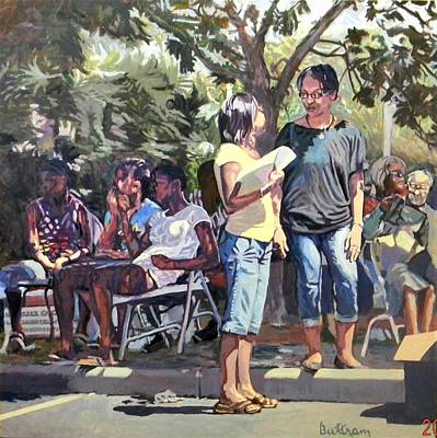 Painting - Block Party by David Buttram