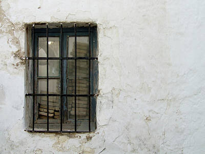 Photograph - Blocked Window by Helen Northcott