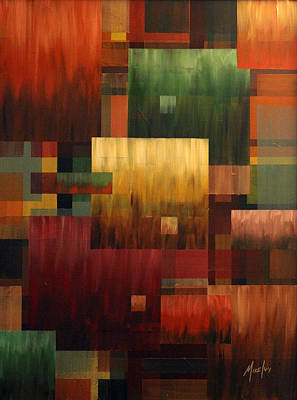Painting - Blockhead by Michael Ivy