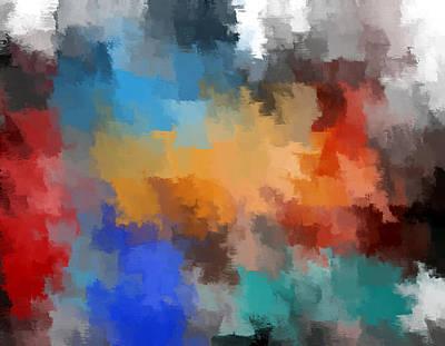 Digital Art - Blocks by Eric Weeber