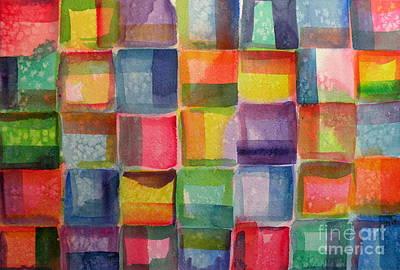 Blocks II Art Print by Holly York