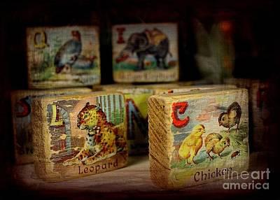Photograph - Blocks by Jenny Revitz Soper