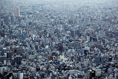 Japan Wall Art - Photograph - Blockscape by Koji Tajima