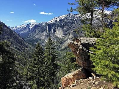 Photograph - Blodgett Canyon Mt. by Joseph J Stevens