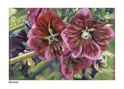 Pastel - Bloeman I by Betsy Derrick