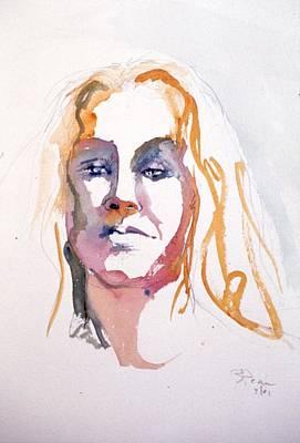 Painting - Blonde #1 by Barbara Pease