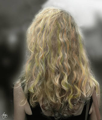 Photograph - Blonde Ringlets by Wayne King