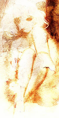Digital Art - Blonde With Sunglasses by Andrea Barbieri