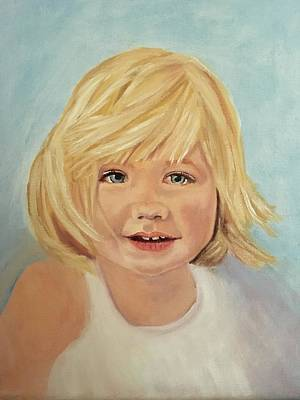 Painting - Blondie by Sharon Schultz