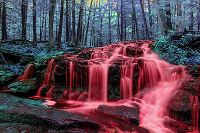 Photograph - Blood Falls 1 by Brian Hale