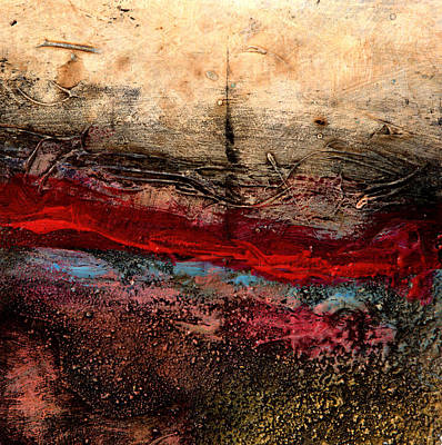 Painting - Blood For Oil by    Michaelalonzo   Kominsky