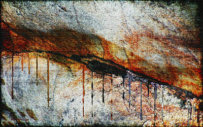 Blood From A Stone Art Print by RC deWinter