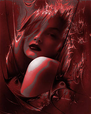 Painting - Blood Lust by Tbone Oliver