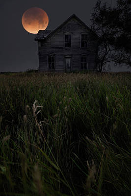 Photograph - Blood Manor  by Aaron J Groen