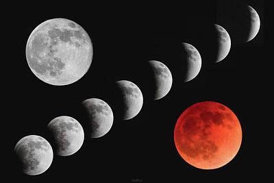 Photograph - Blood Moon Of The Tetrad by Rick Furmanek