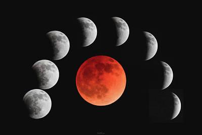 Photograph - Blood Moon by Rick Furmanek
