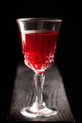 Table Wine Photograph - Blood Or Wine? by Vadim Goodwill