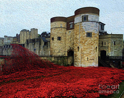 Photograph - Blood Swept Lands 6 by Chris Thaxter