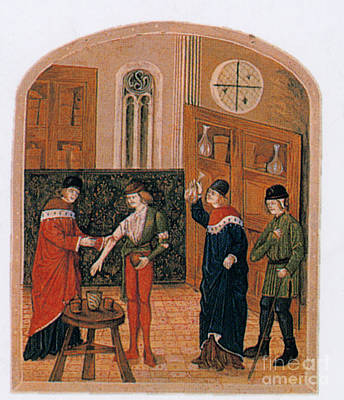 Bloodletting Art Print by Science Source