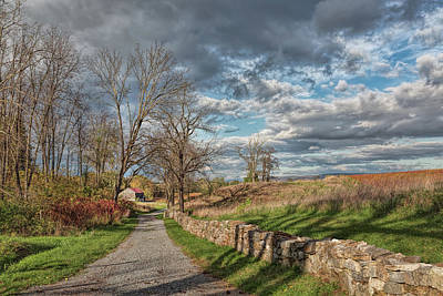 Photograph - Bloody Lane by John M Bailey