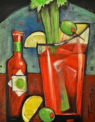 Painting - Bloody Mary by Tim Nyberg