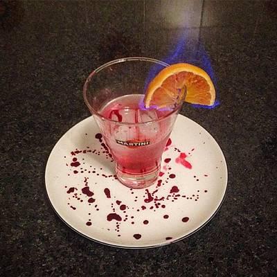 Martini Photograph - Bloody Mary (vodka,martini,succo by Michele Bettoni