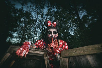 Photograph - Bloody Minnie by CJ Schmit