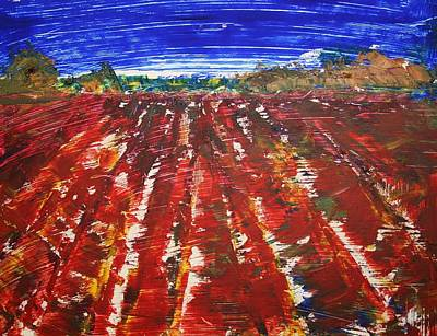 Painting - Bloody Pesticides by Julie Lueders