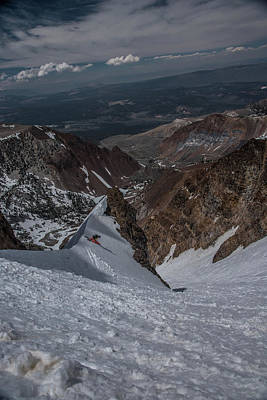 Photograph - Bloody Ski by Jeffrey Fox