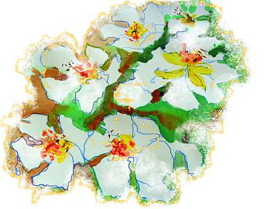 Wall Art - Painting - Bloom Euphoria by Larissa Pirogovski
