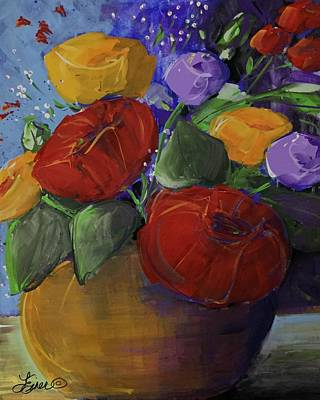 Painting - Bloom Explosion by Terri Einer
