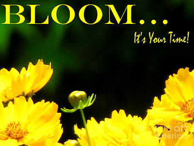 Bloom Art Print by Gardening Perfection