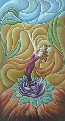 Painting - Bloom by John Entrekin