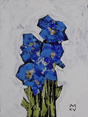 Brut Mixed Media - Bloom No. 3  by Mark M  Mellon