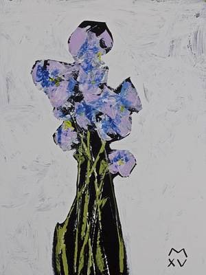 Painting - Bloom No. 9  by Mark M  Mellon
