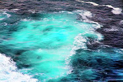 Photograph - Bloom Of Coccolithophorids And Blue Tasman Sea by Miroslava Jurcik
