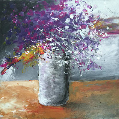 Painting - Bloom Where You Are Planted by Linda Bailey