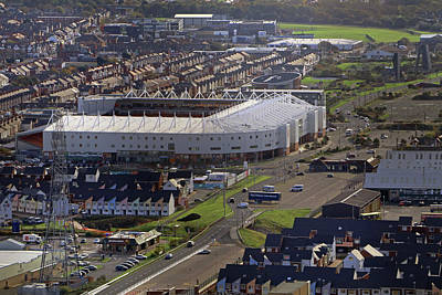 Photograph - Bloomfield Road Stadium by Tony Murtagh