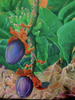 Painting - Bloomin' Bananas by Patti Lane