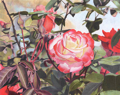 Painting - Bloomin Beauty by Robin Manelis