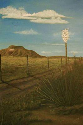 Painting - Bloomin' Yucca by Sheri Keith