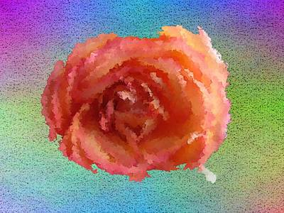 Blooming Digital Art - Blooming 4 by Tim Allen