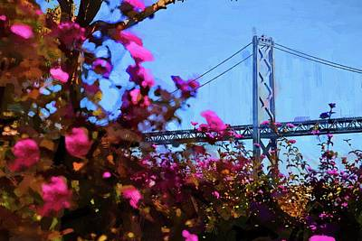 Photograph - Blooming By The Bridge by Alice Gipson