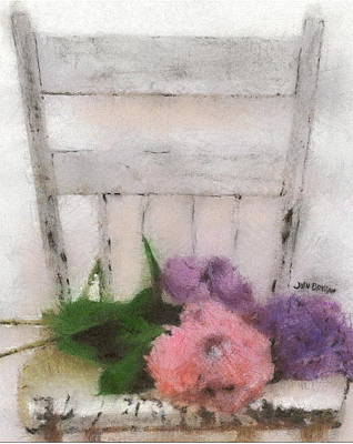 Pastel - Blooming Chair by John Brisson