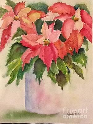 Painting - Blooming Christmas by Renee Howell