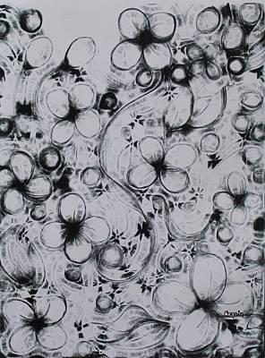 Digital Art Digital Art - Blooming Doodles by Art By Naturallic